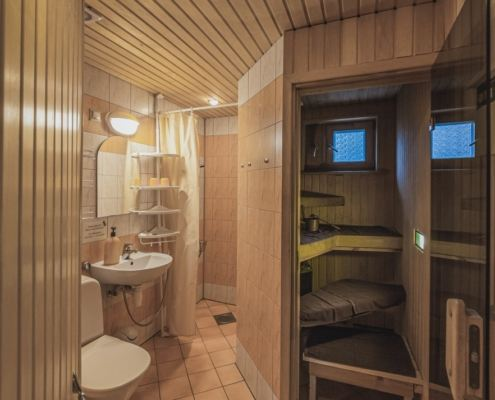 Sauna in the apartment